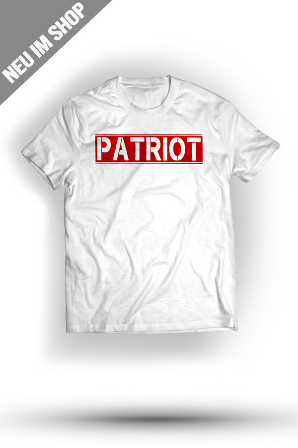 Patriot II T-Shirt/ weiß